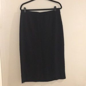"Eileen Fisher ""The Icons"" Pencil Skirt size L NWT"